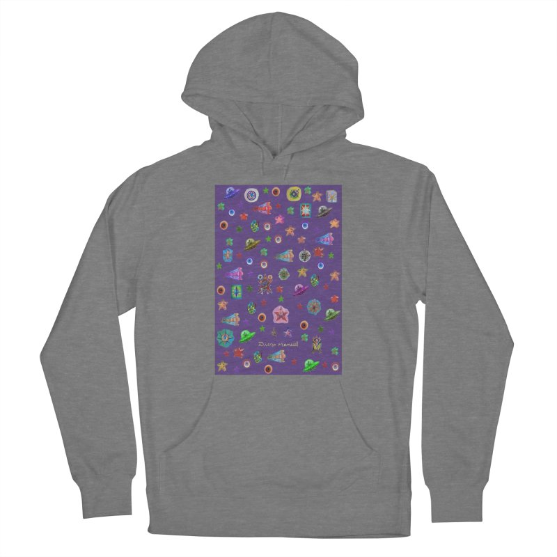the space Women's Pullover Hoody by Diego Manuel Rodriguez Artist Shop