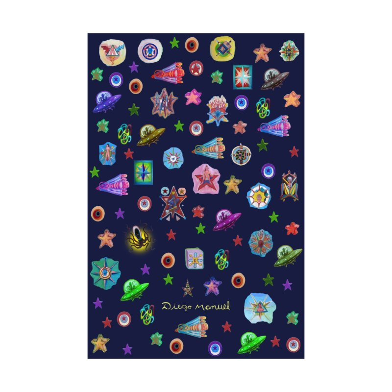 The space Home Tapestry by Diego Manuel Rodriguez Artist Shop