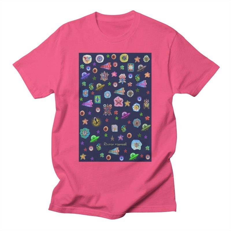 The space Men's T-Shirt by Diego Manuel Rodriguez Artist Shop