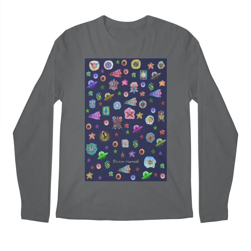 The space Men's Longsleeve T-Shirt by Diego Manuel Rodriguez Artist Shop