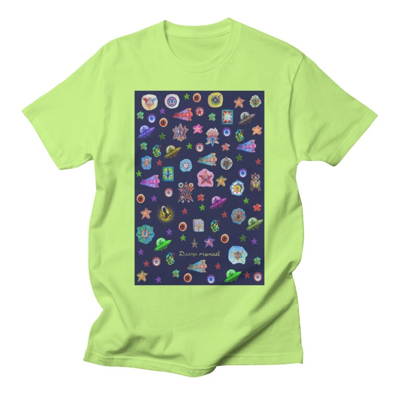 The space Men's T-Shirt by Diego Manuel Rodriguez Artist Shop