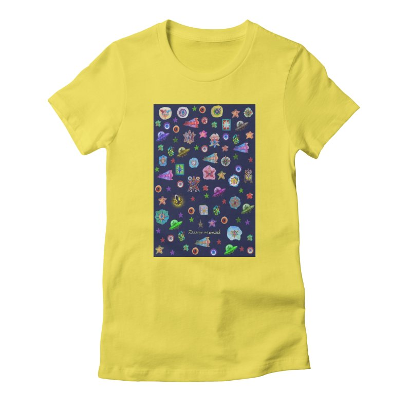 The space Women's T-Shirt by Diego Manuel Rodriguez Artist Shop
