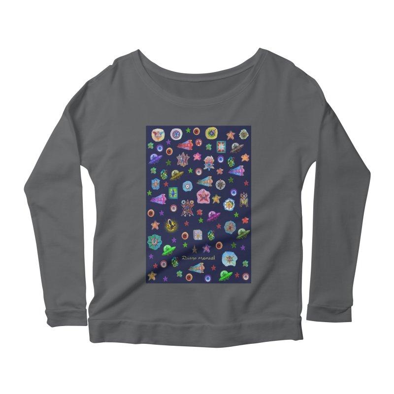 The space Women's Longsleeve T-Shirt by Diego Manuel Rodriguez Artist Shop