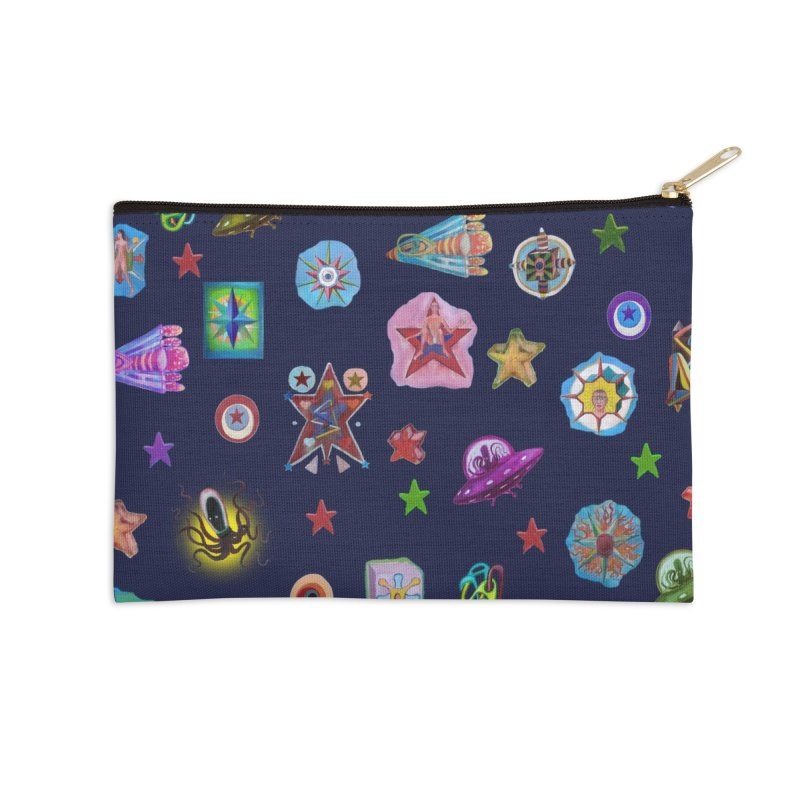 The space Accessories Zip Pouch by Diego Manuel Rodriguez Artist Shop