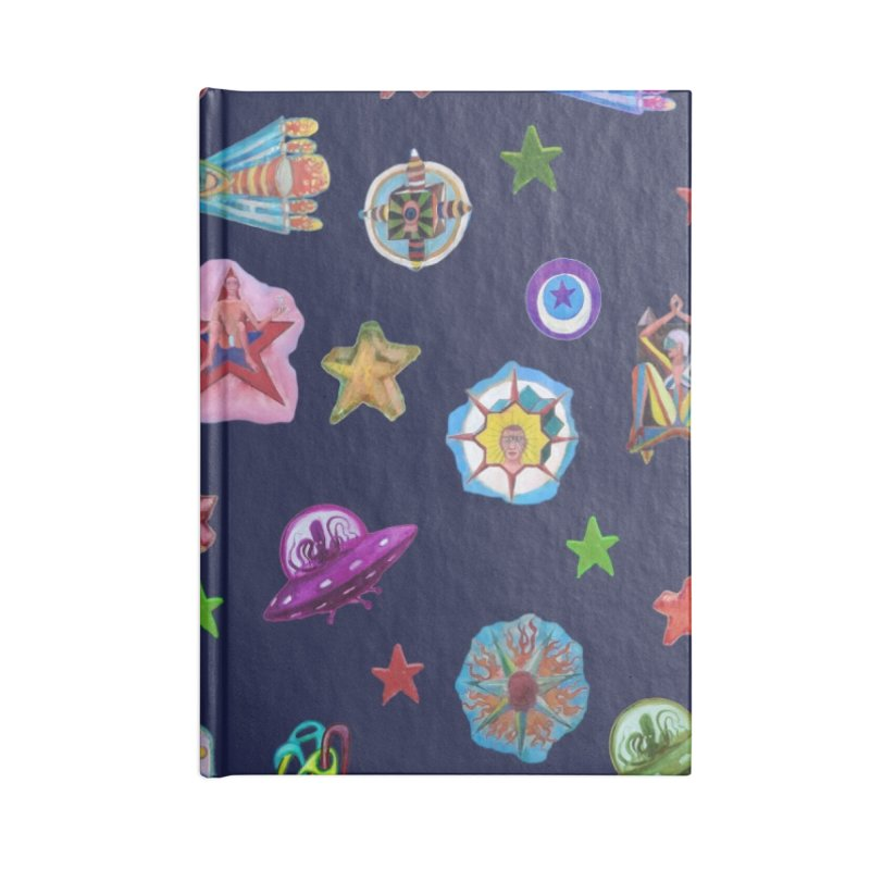 The space Accessories Notebook by Diego Manuel Rodriguez Artist Shop