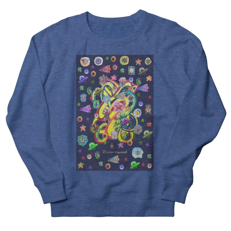 the space Men's Sweatshirt by Diego Manuel Rodriguez Artist Shop