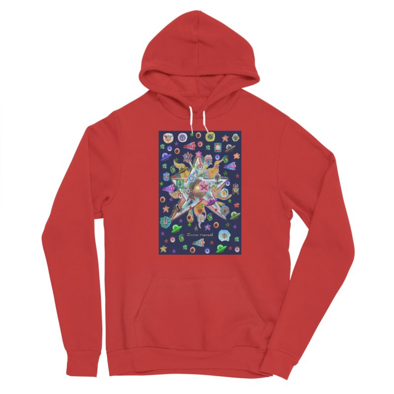 The space 4 Women's Pullover Hoody by Diego Manuel Rodriguez Artist Shop
