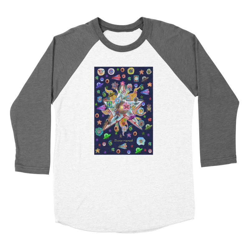 The space 4 Women's Longsleeve T-Shirt by Diego Manuel Rodriguez Artist Shop