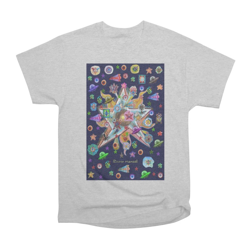 The space 4 Men's T-Shirt by Diego Manuel Rodriguez Artist Shop