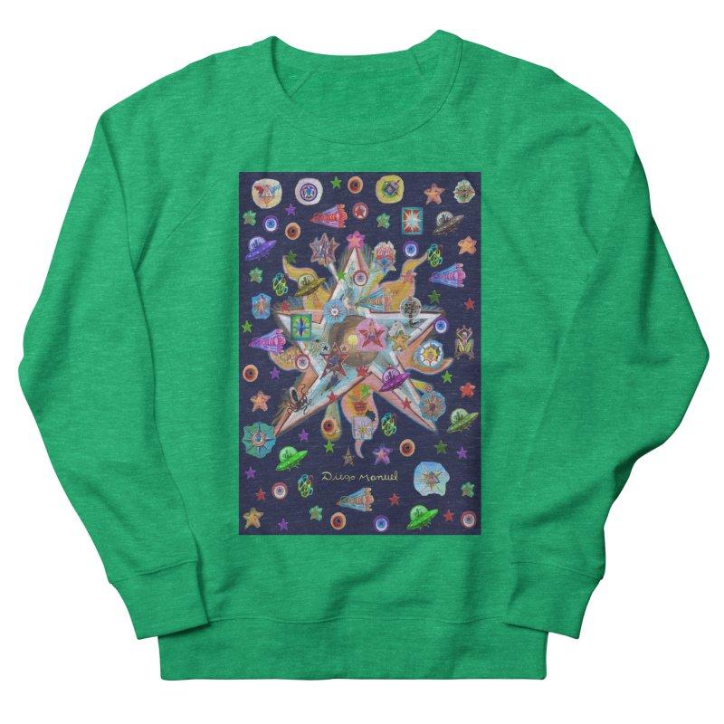 The space 4 Women's Sweatshirt by Diego Manuel Rodriguez Artist Shop
