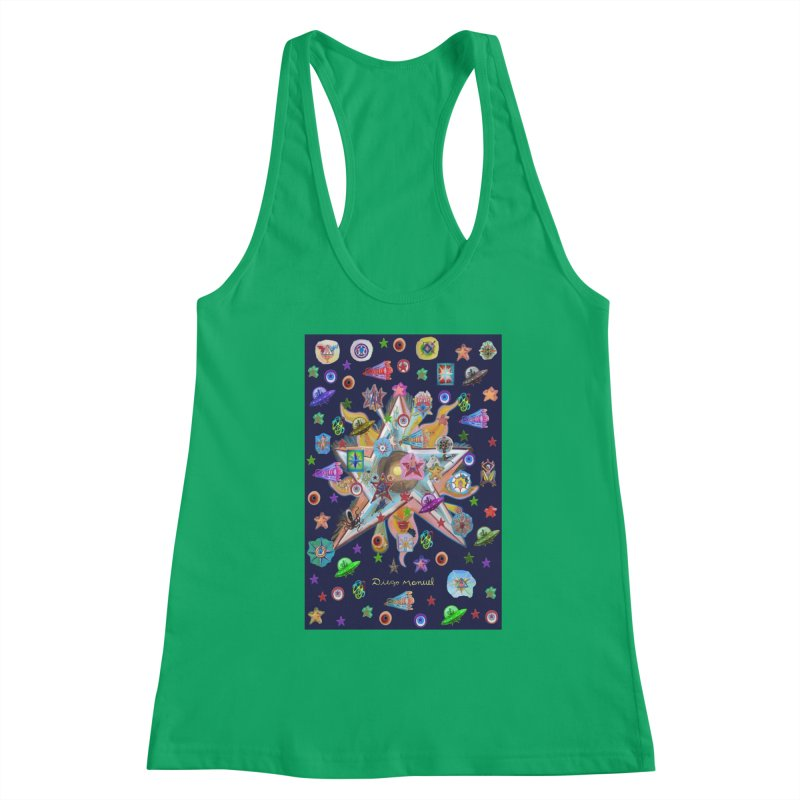 The space 4 Women's Tank by Diego Manuel Rodriguez Artist Shop