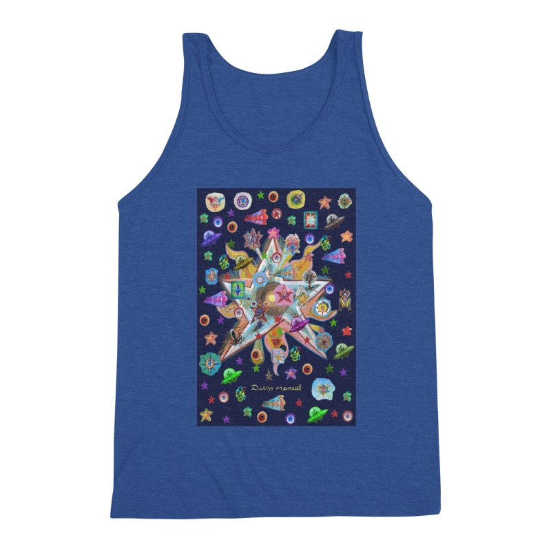 The space 4 Men's Tank by Diego Manuel Rodriguez Artist Shop
