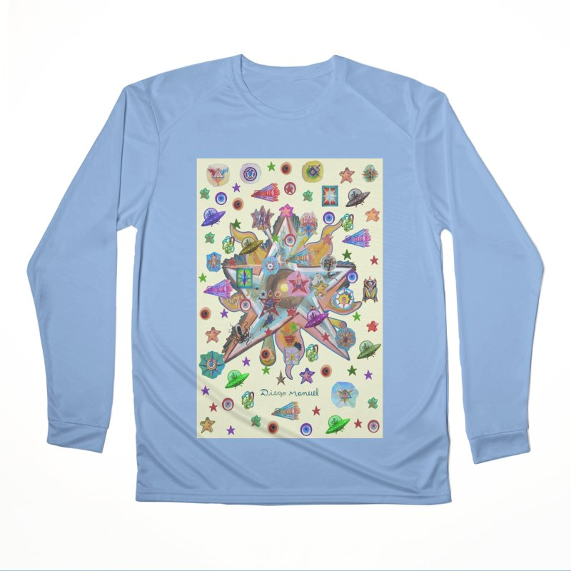 The space 4 Men's Longsleeve T-Shirt by Diego Manuel Rodriguez Artist Shop