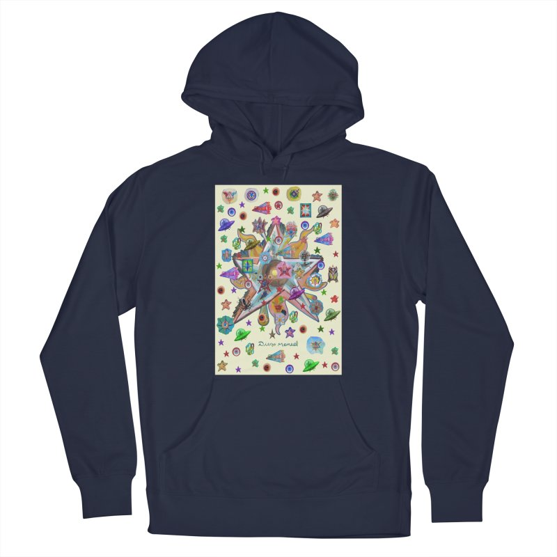 The space 4 Men's Pullover Hoody by Diego Manuel Rodriguez Artist Shop