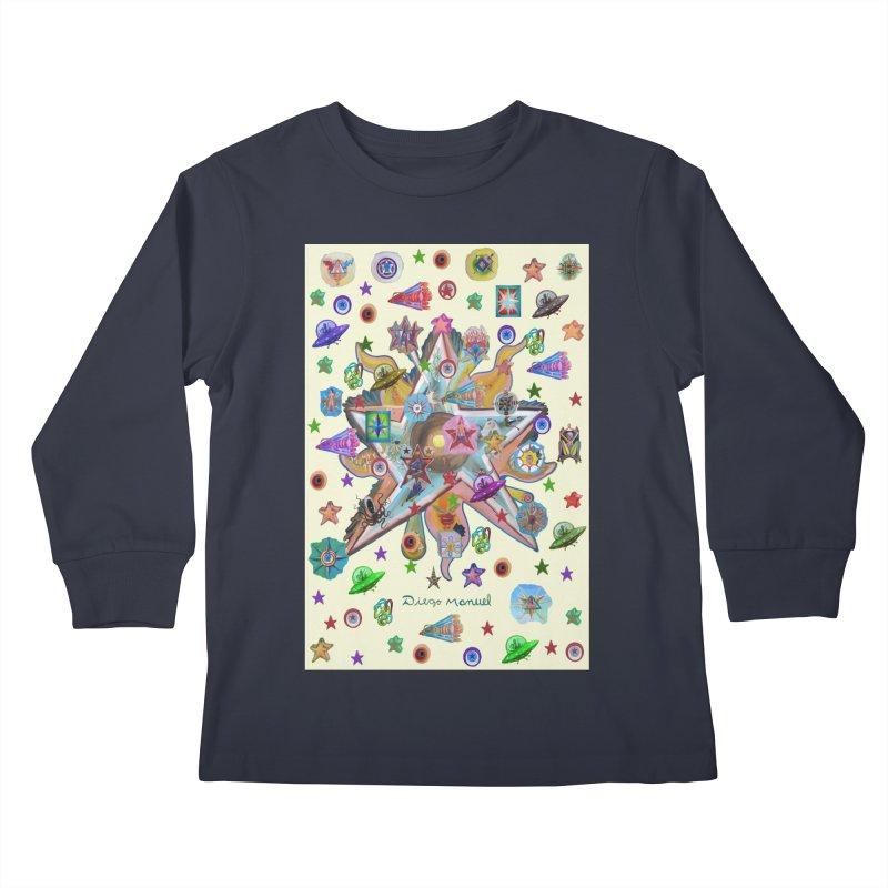 The space 4 Kids Longsleeve T-Shirt by Diego Manuel Rodriguez Artist Shop