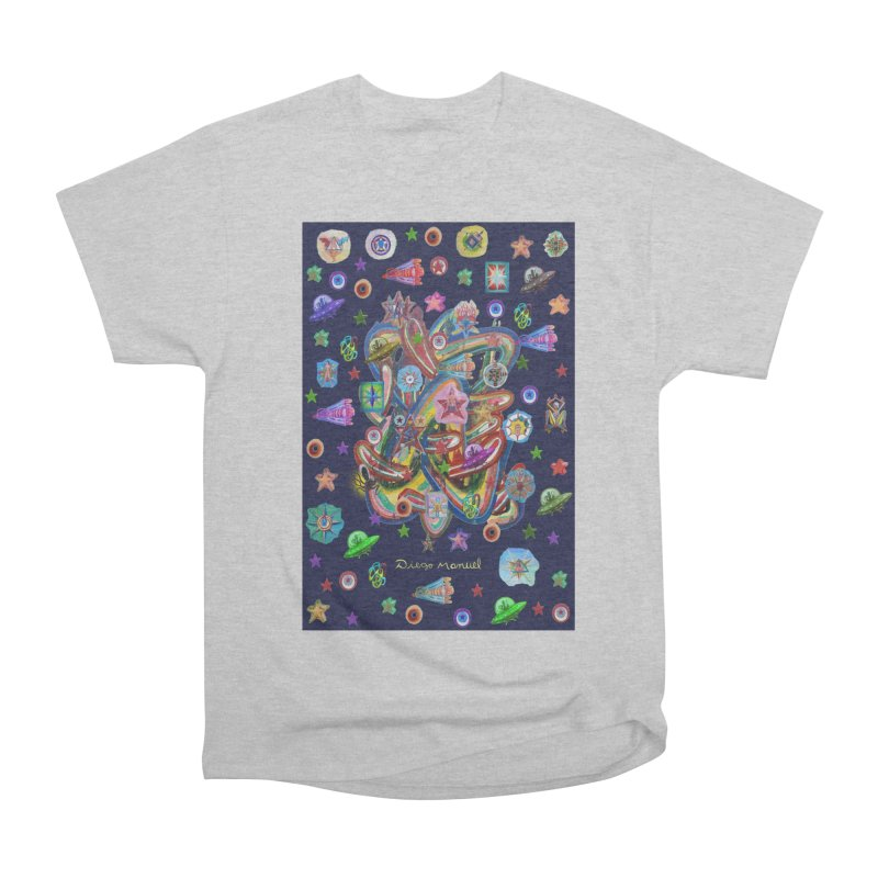 the space 5 Men's T-Shirt by Diego Manuel Rodriguez Artist Shop