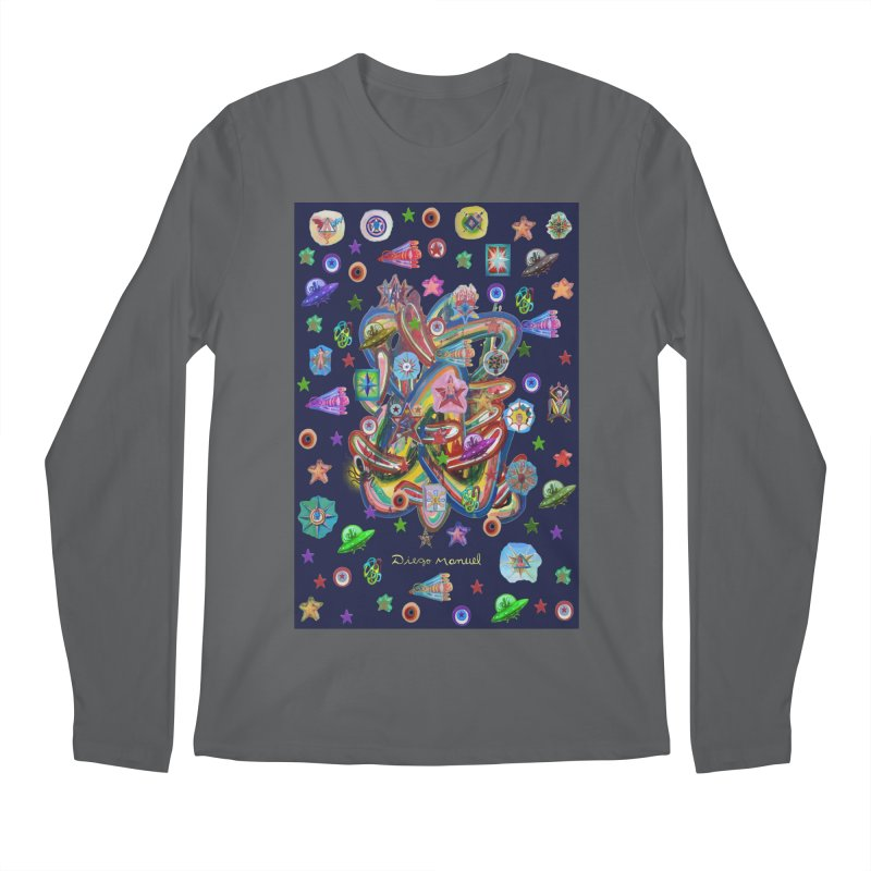 the space 5 Men's Longsleeve T-Shirt by Diego Manuel Rodriguez Artist Shop