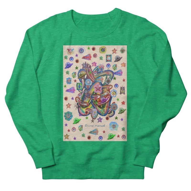 The space Women's Sweatshirt by Diego Manuel Rodriguez Artist Shop