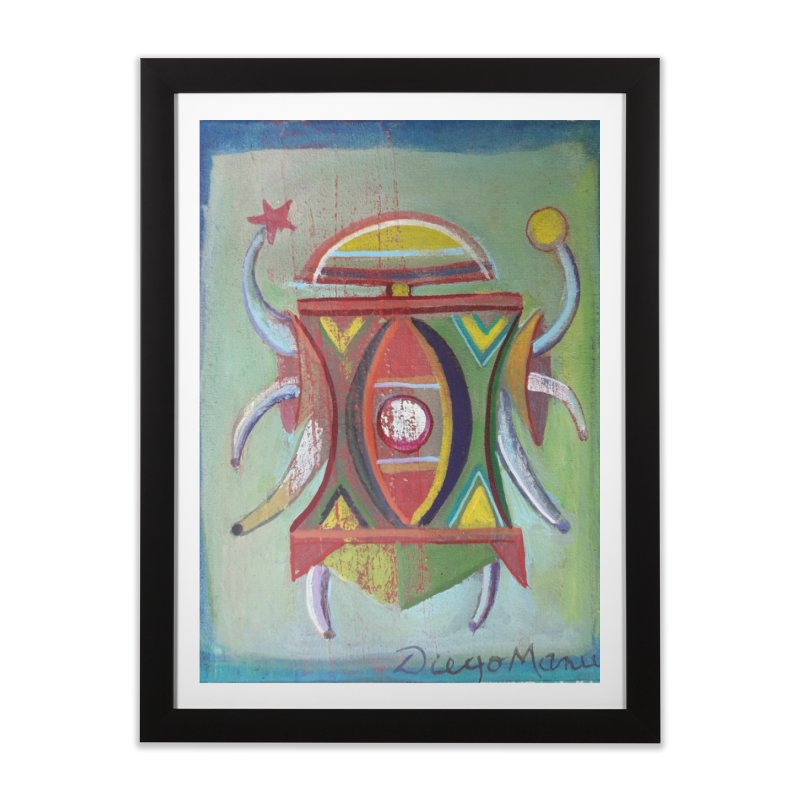 Astrapop 30 Home Framed Fine Art Print by Diego Manuel Rodriguez Artist Shop
