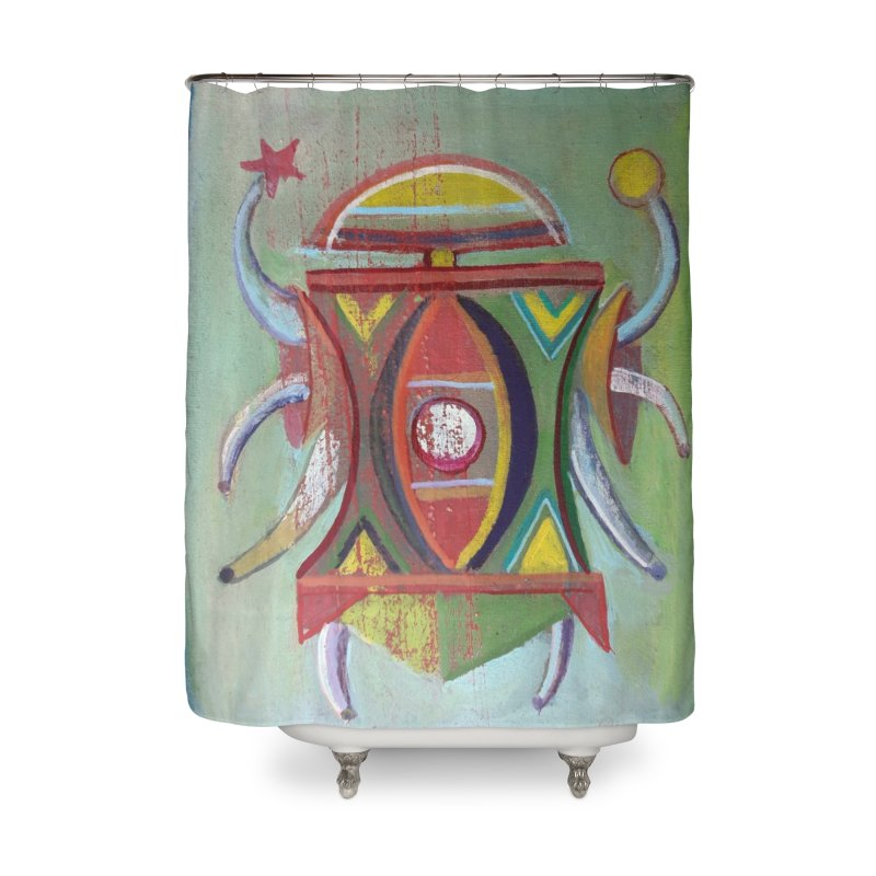 Astrapop 30 Home Shower Curtain by Diego Manuel Rodriguez Artist Shop
