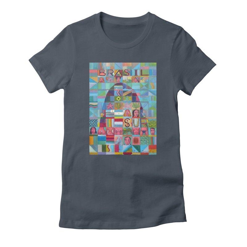 Brasil Women's T-Shirt by Diego Manuel Rodriguez Artist Shop