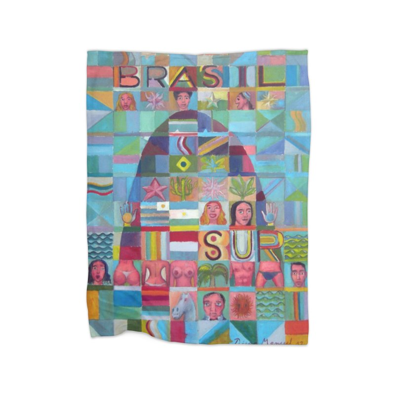 Brasil Home Blanket by Diego Manuel Rodriguez Artist Shop