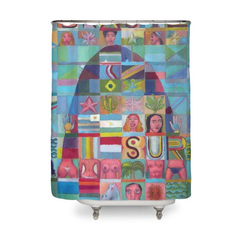 Brasil Home Shower Curtain by Diego Manuel Rodriguez Artist Shop