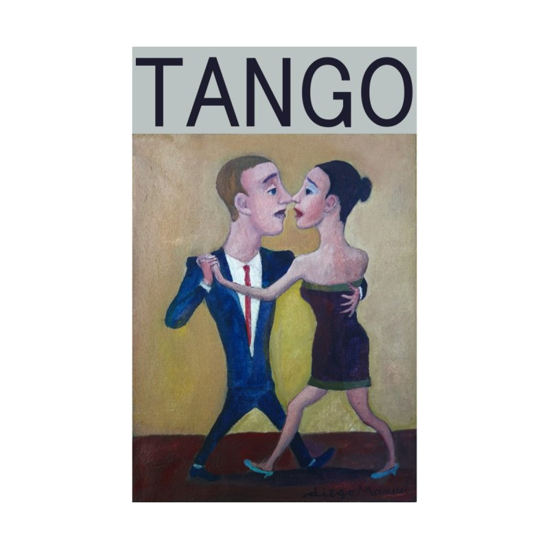 Bailarines de tango 1 Home Shower Curtain by Diego Manuel Rodriguez Artist Shop