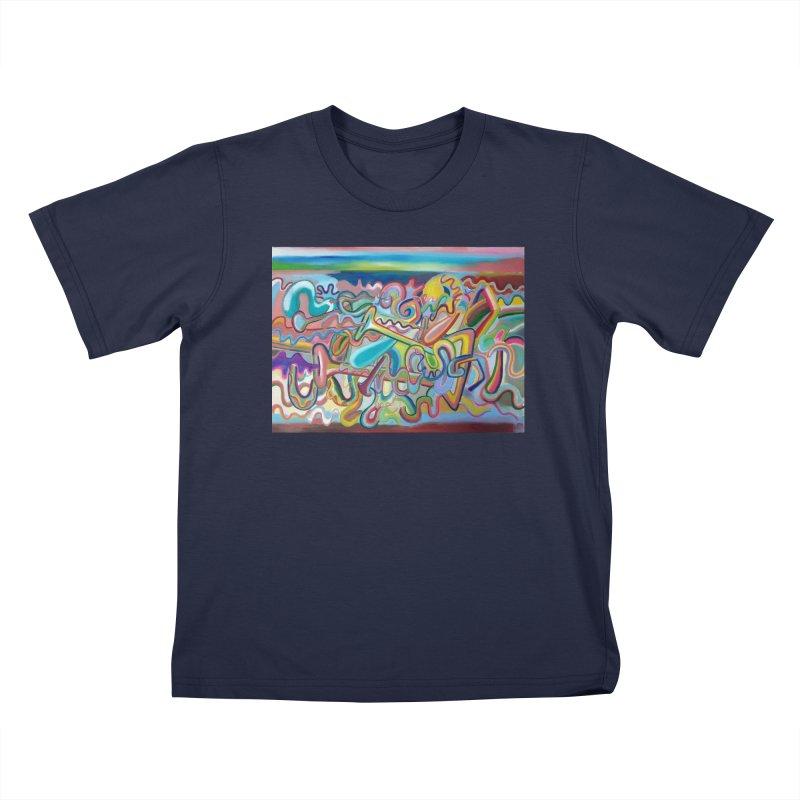 Composicion verano 1 Kids T-Shirt by Diego Manuel Rodriguez Artist Shop