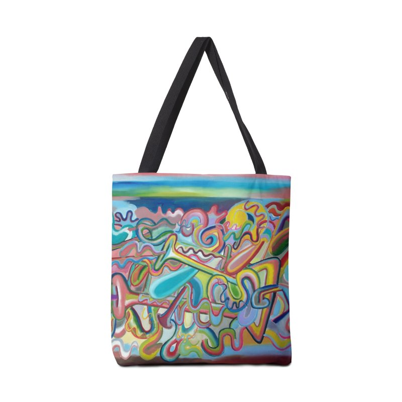 Composicion verano 1 Accessories Tote Bag Bag by diegomanuel's Artist Shop