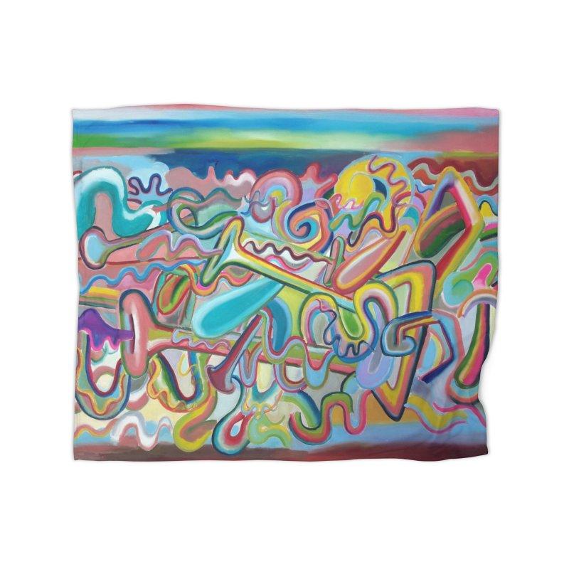 Composicion verano 1 Home Blanket by Diego Manuel Rodriguez Artist Shop