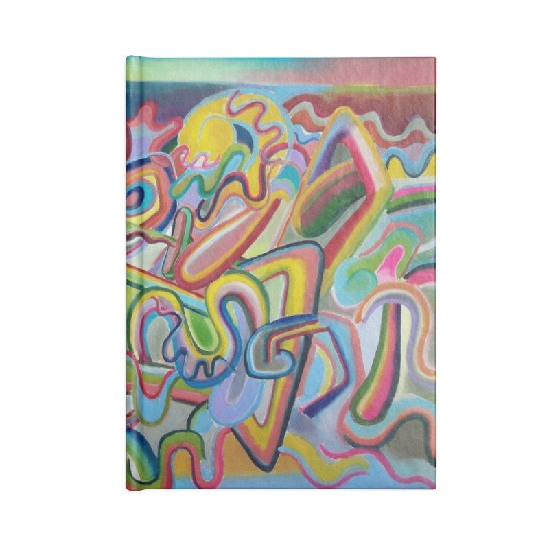 Composicion verano 1 Accessories Notebook by Diego Manuel Rodriguez Artist Shop