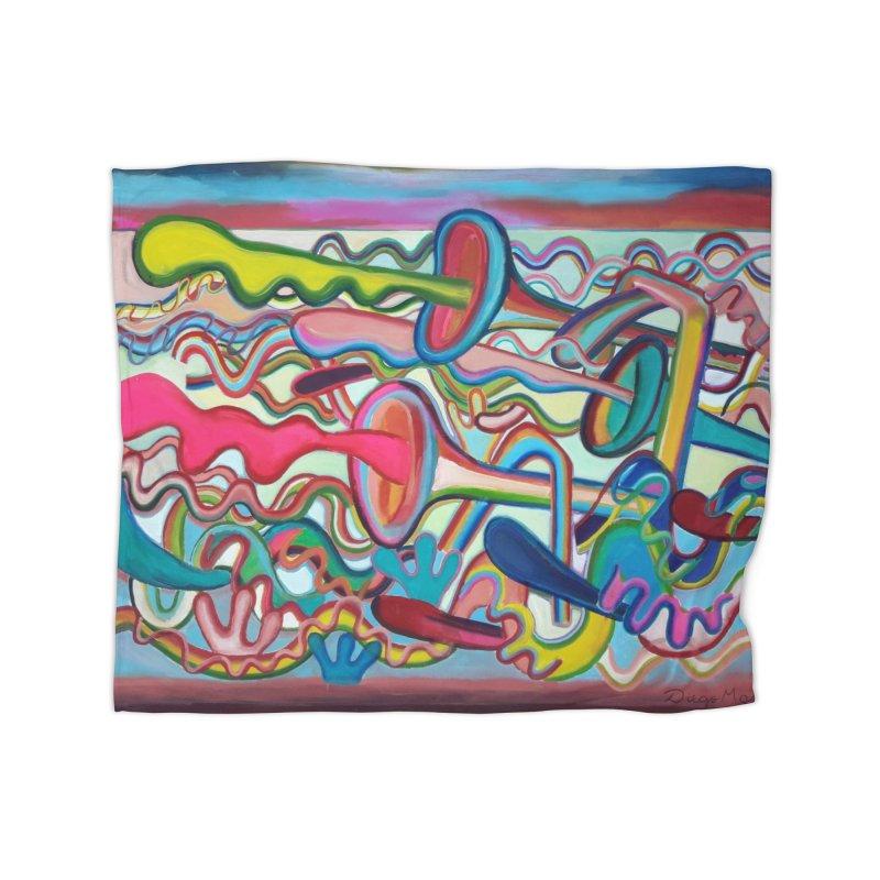 Composicion verano 2 Home Blanket by Diego Manuel Rodriguez Artist Shop