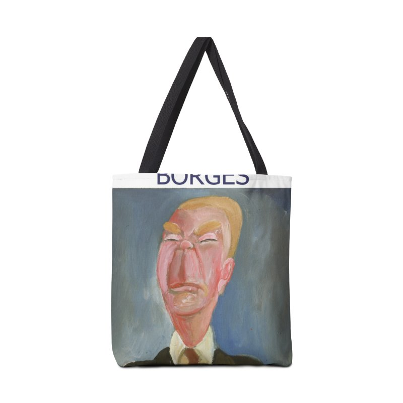 Borges Accessories Tote Bag Bag by diegomanuel's Artist Shop