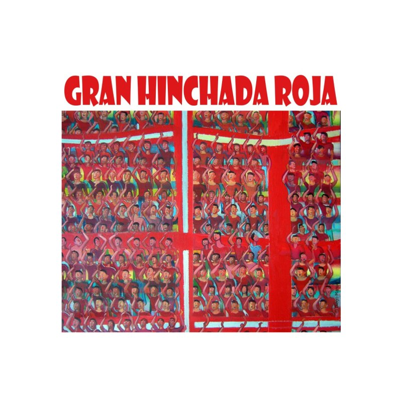 Gran Hinchada roja Home Duvet by Diego Manuel Rodriguez Artist Shop