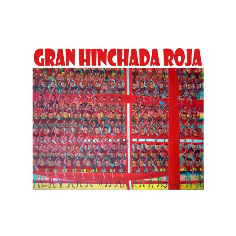 Gran hinchada roja by diegomanuel's Artist Shop