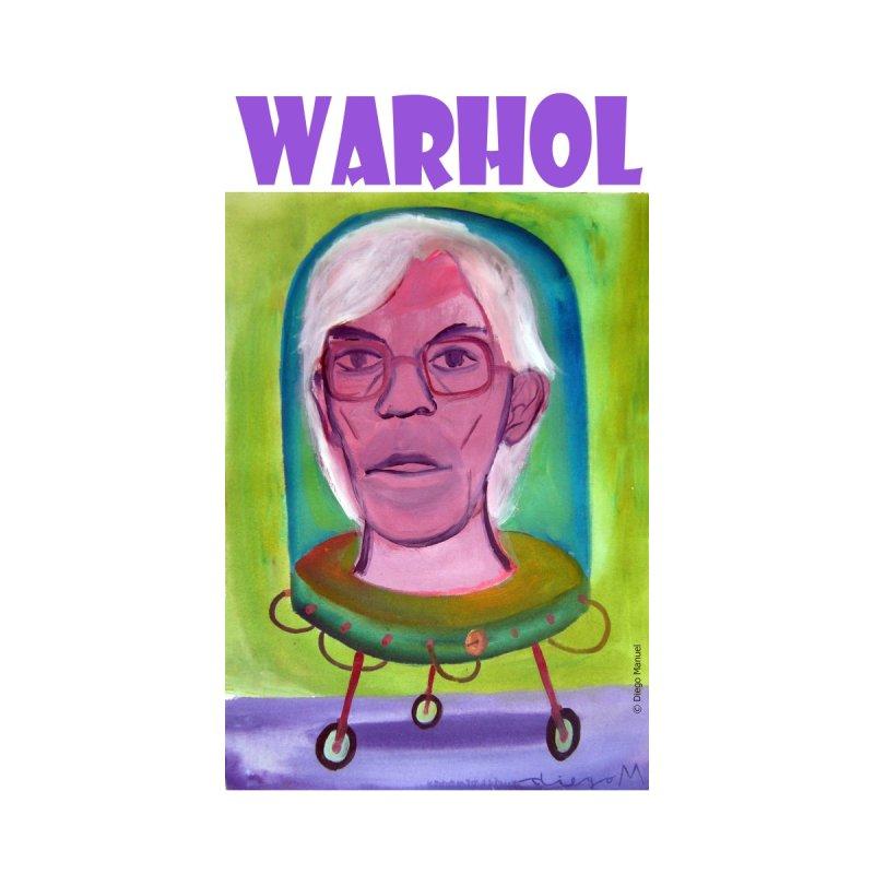 Andy Warhol en la máquina duplicadora by diegomanuel's Artist Shop