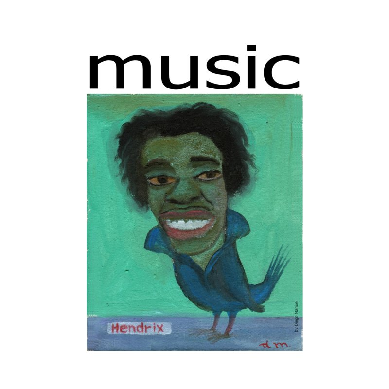 Hendrix bird MUSIC   by diegomanuel's Artist Shop