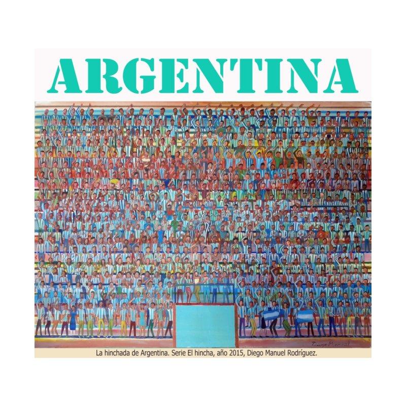 Hinchada de Argentina None  by diegomanuel's Artist Shop