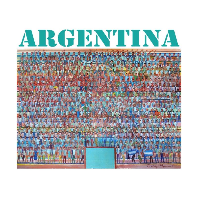 Hinchada de Argentina by diegomanuel's Artist Shop