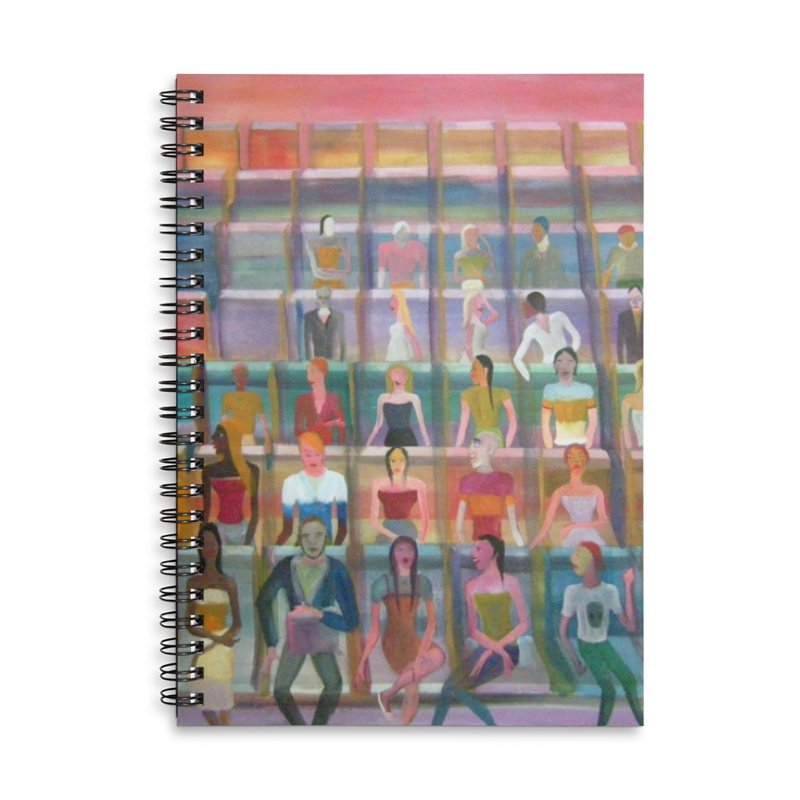 At the cinema Accessories Notebook by Diego Manuel Rodriguez Artist Shop
