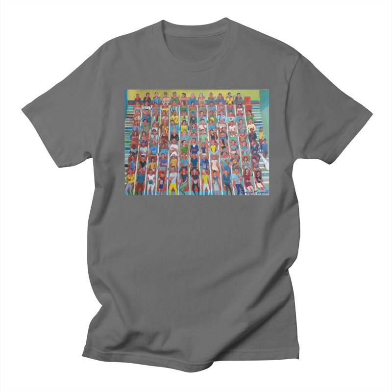 At the cinema Men's T-Shirt by Diego Manuel Rodriguez Artist Shop