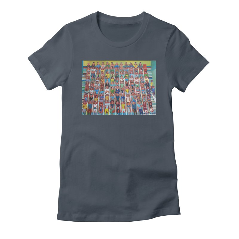At the cinema Women's T-Shirt by Diego Manuel Rodriguez Artist Shop
