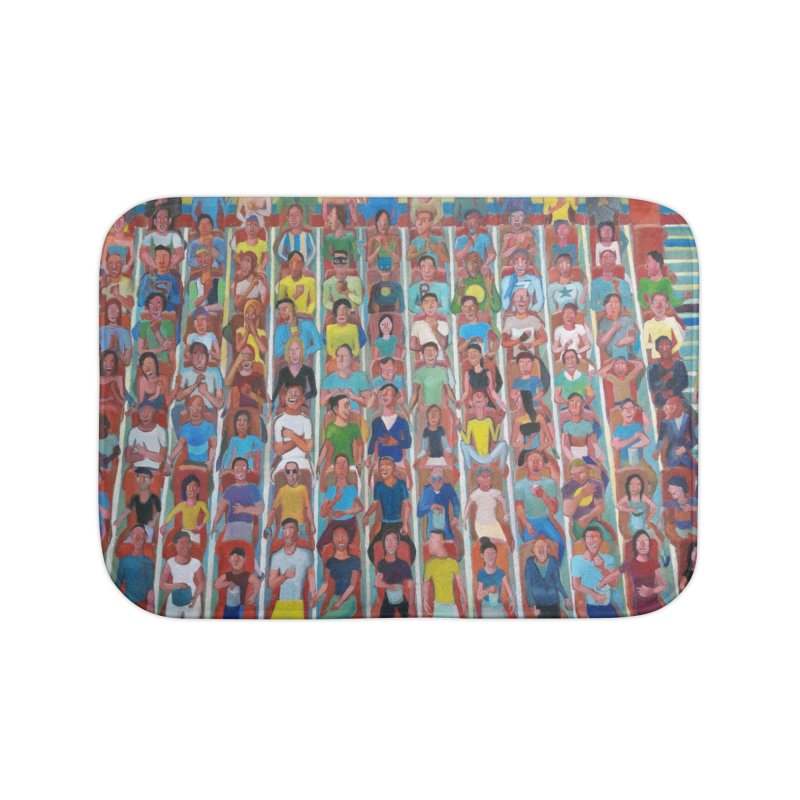 At the cinema Home Bath Mat by Diego Manuel Rodriguez Artist Shop