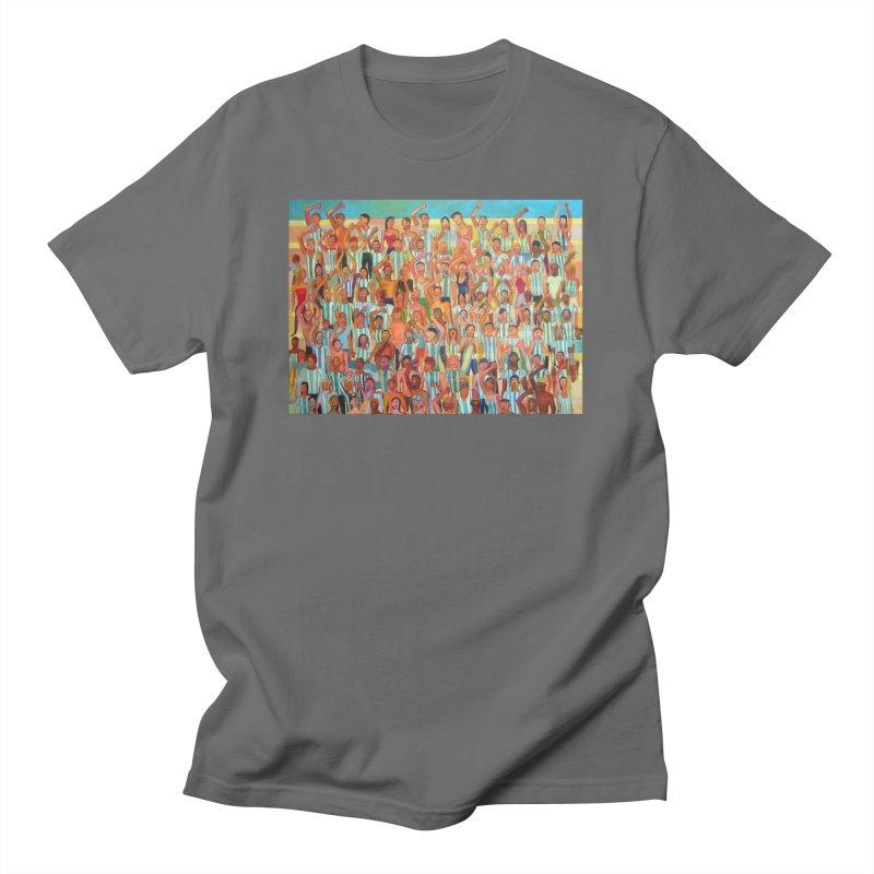Great Argentine tribune Men's T-Shirt by Diego Manuel Rodriguez Artist Shop