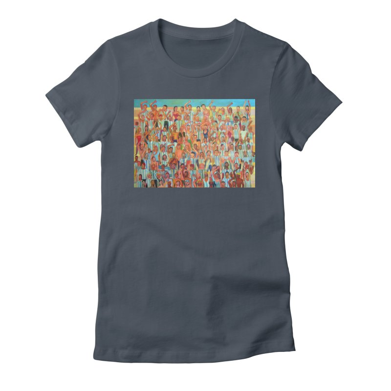 Great Argentine tribune Women's T-Shirt by Diego Manuel Rodriguez Artist Shop