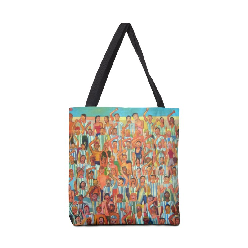 Great Argentine tribune Accessories Tote Bag Bag by diegomanuel's Artist Shop