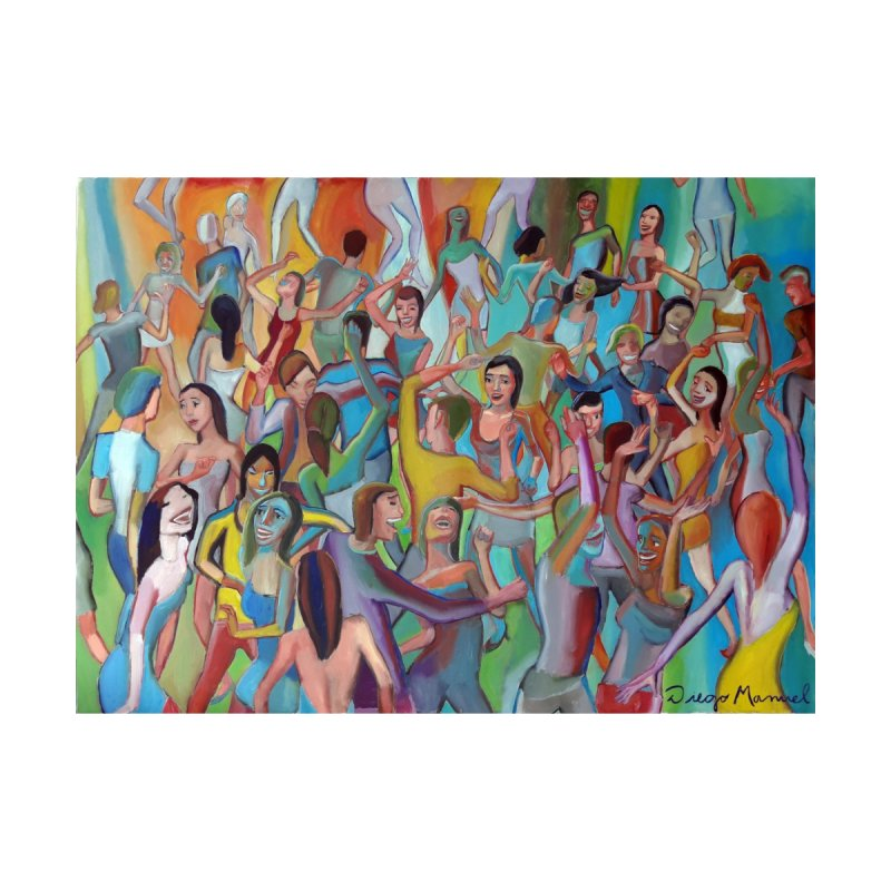 The dance 7 Home Shower Curtain by Diego Manuel Rodriguez Artist Shop