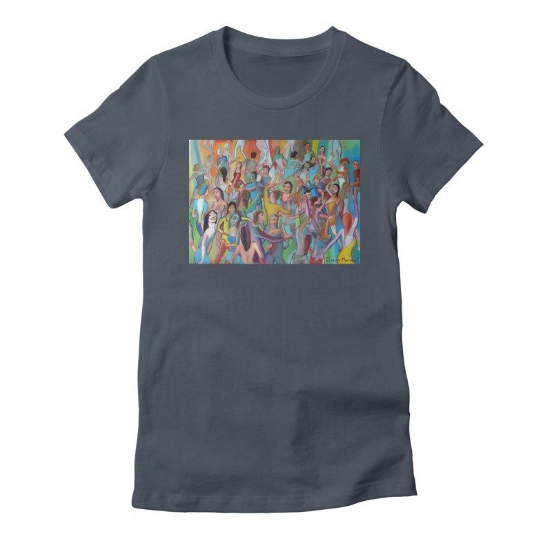 The dance 7 Women's T-Shirt by Diego Manuel Rodriguez Artist Shop