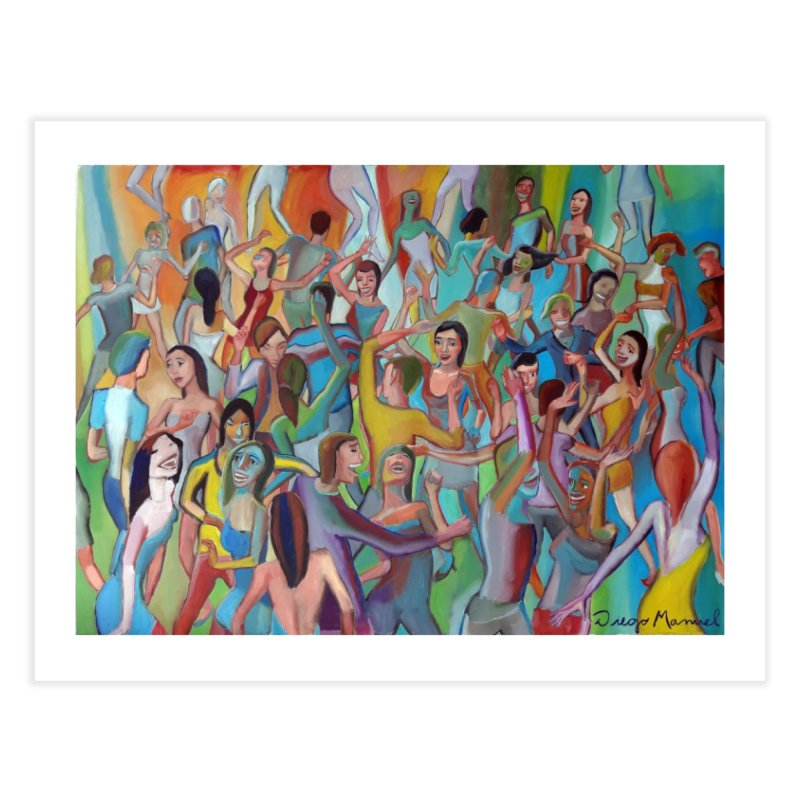 The dance 7 Home Fine Art Print by Diego Manuel Rodriguez Artist Shop